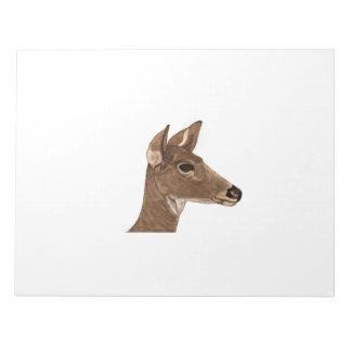 Doe Female Deer Notepad