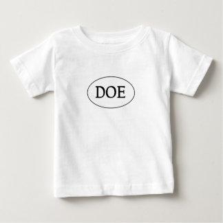 DOE Oval Logo Baby T-Shirt