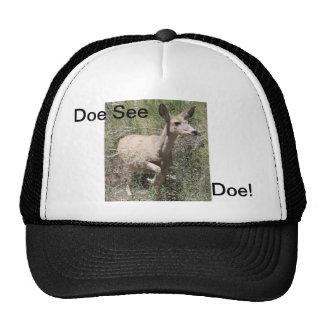 Doe See Doe Trucker Hats