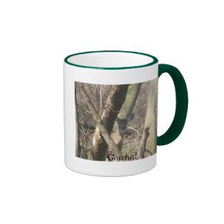 Doe Takes Stance 15oz. Ringer Mug