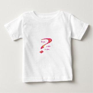 doer or talker question Pink Baby T-Shirt