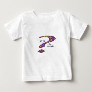 Doer or talker question Purple Baby T-Shirt