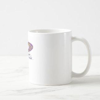 Doer or talker question Purple Coffee Mug