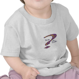 Doer or talker question Purple Tshirt
