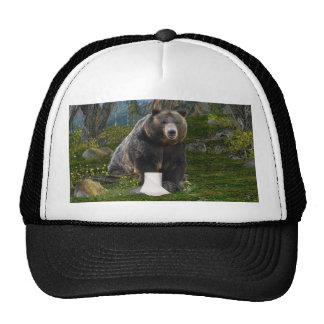 Does a bear...... trucker hat