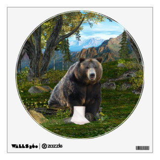 Does a bear...... wall decal