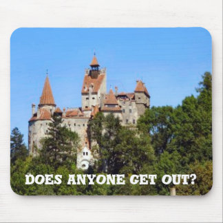 Does anyone get out? mouse pad
