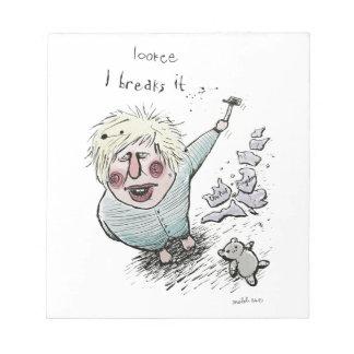 Does Brexit mean Breaks It? Notepad
