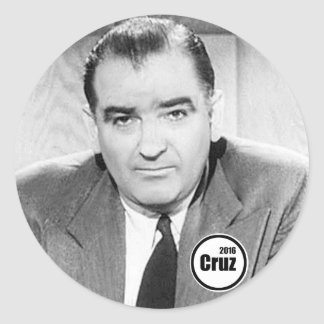 Does Cruz remind you of anyone? Classic Round Sticker