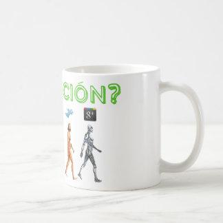Does evolution of the Web versus man? Mug