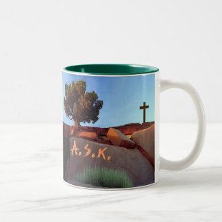 Does God really exist? Mug