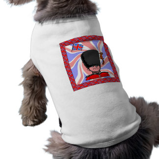 does he want to play? doggie t shirt
