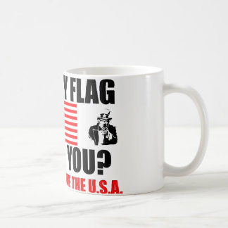Does My Flag Offend You? Coffee Mug