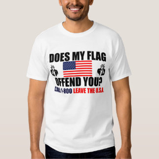 Does My Flag Offend You? Shirt