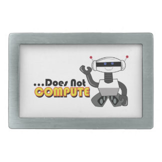 Does Not Compute Belt Buckles