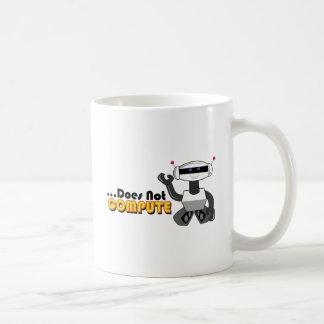 Does Not Compute Classic White Coffee Mug
