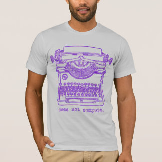 Does Not Compute (Purple) T-Shirt