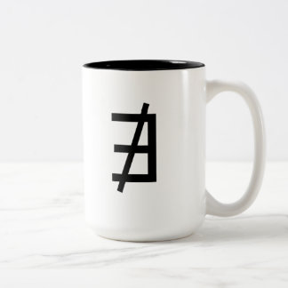 Does not exist Two-Tone coffee mug
