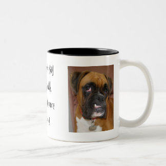 Does not play nicely with oth... Two-Tone coffee mug