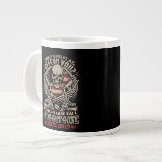 Does our flag offend you? giant coffee mug