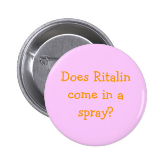 Does Ritalin come in a spray? Pins