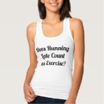 Does Running Late Count as Exercise Tees