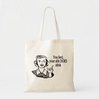 Does Stink Retro Tote Bag