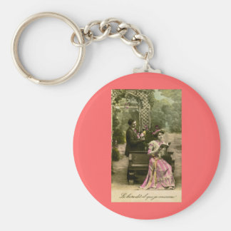 Does that book say 'I love you'? Keychain