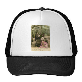 Does that book say 'I love you'? Trucker Hat