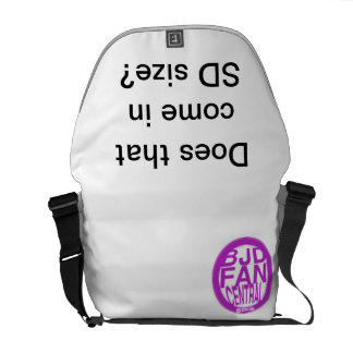 Does that come in SD size? Messenger Bag