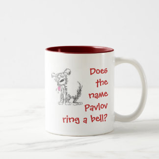 Does the name Pavlov ring a bell? Two-Tone Coffee Mug