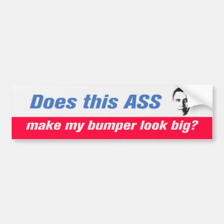 Does This A.. Bumper Sticker