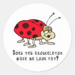 Does This Exoskeleton...? Classic Round Sticker