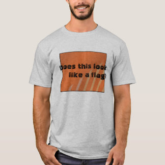 Does this look like a flag? T-Shirt