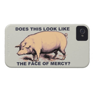 Does This Look Like The Face of Mercy?  Grumpy Pig iPhone 4 Covers