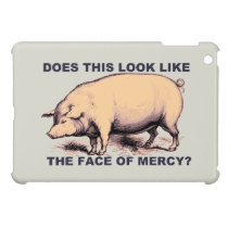 Does This Look Like The Face of Mercy?  Grumpy Pig Cover For The iPad Mini