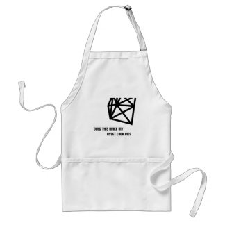 Does this make my asset look big? adult apron