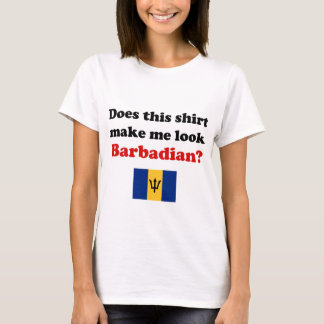 Does This Shirt Make Me Look Barbadian?