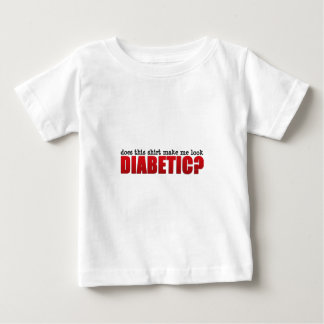Does this shirt make me look Diabetic?