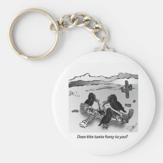 Does this taste funny to you? keychain