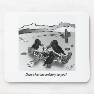 Does this taste funny to you? mouse pad