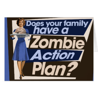 Does your family have a Zombie Action Plan Card