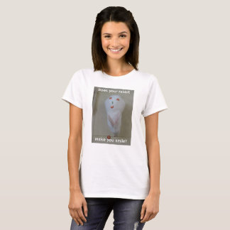 Does Your Rabbit Make You Smile? T-Shirt