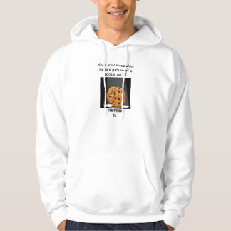 does your sweatshirt have a picture of a cookie?