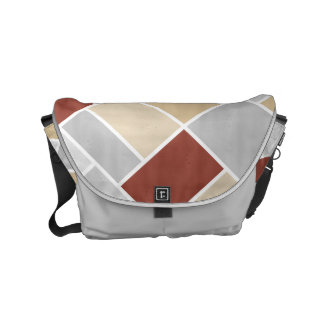 Doesburg ColorPop Composition II Small Messenger Bag