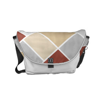 Doesburg ColorPop Composition Small Messenger Bag