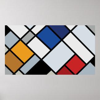 Doesburg - Contra-Composición de disonancias Poster