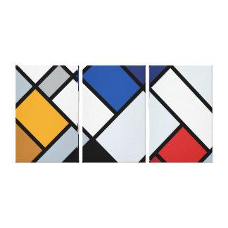 Doesburg - Contra-Composition of Dissonances Canvas Print