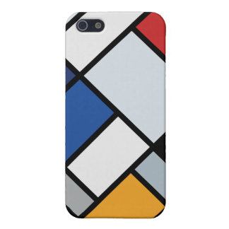 Doesburg - Contra-Composition of Dissonances iPhone 5 Cases