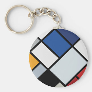 Doesburg - Contra-Composition of Dissonances Keychain